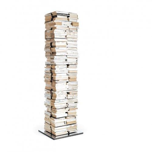 Opinion Ciatti Ptolomeo X4 A Bücherregal, weiß lackiert H197cm, 15 Regalböden