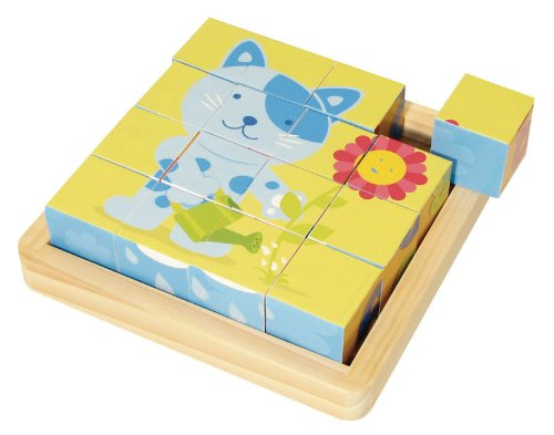 House of Toys- Puzzle 16 Cubes, 450406