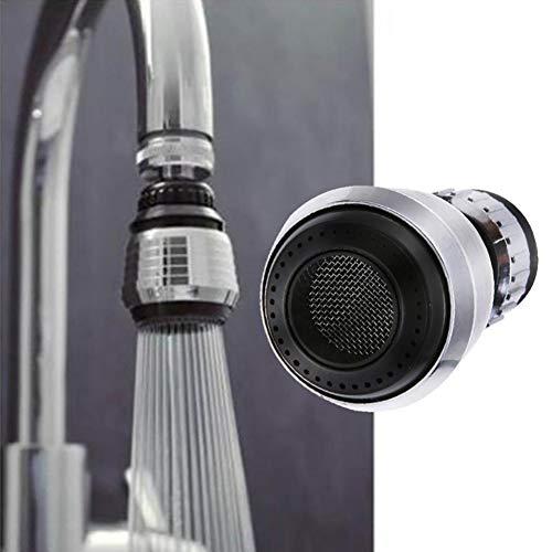 JER 1 PC Filtro Taps 360 Grados de rotación del Filtro Tap Pelele Neto Grifo Aireador Conector Boquilla Difusor para Ahorro de Agua Accesorios de Cocina