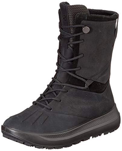 ECCO Women's Snow Fashion Boot, Black, US-0 / Asia Size s