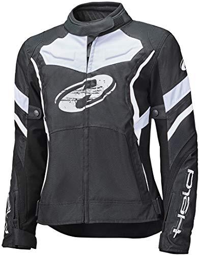 Held Baxley Top Damen Motorrad Textiljacke Schwarz/Weiß M