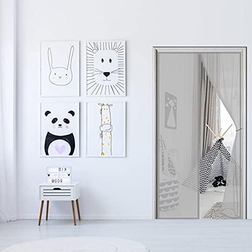 WEIZON Cortina Mosquitera para Puertas 170 x 230 cm Mosquitera Magnética para...
