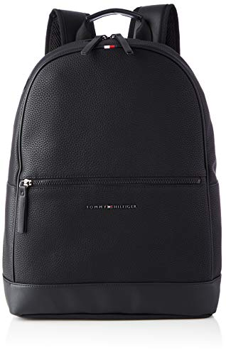 Tommy Hilfiger Mäns väsentliga ryggsäck väskor, Svart - Svart - en storlek