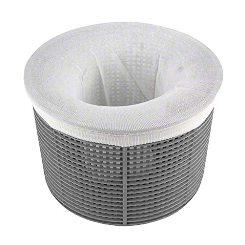 1/3 /5 Schwimmbad Skimmer Socken +Basket 10x20cm, Einhängeskimmer Pool Filter Saver Socken Netz für Filter Skimmer Korb, Ultrafein Mesh Screen Liner für Schwimmbad Korb Filtersysteme (B)