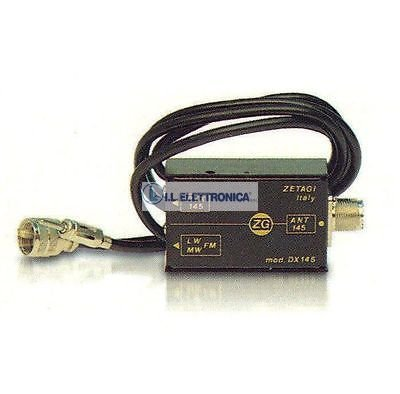 ZETAGI DX-27 CB MIX MISCELATORE Antenna cb-autoradio