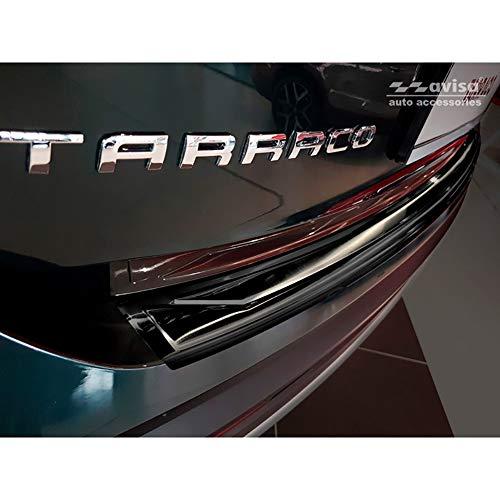 Avisa 2//35341 C8 Protezione paraurti Posteriore in Acciaio Inox per Audi A6 Avant 2018-Ribs
