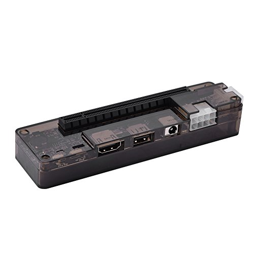 Laptop External Independent Video Card Dock for Mini PCI-E Without Power Supply