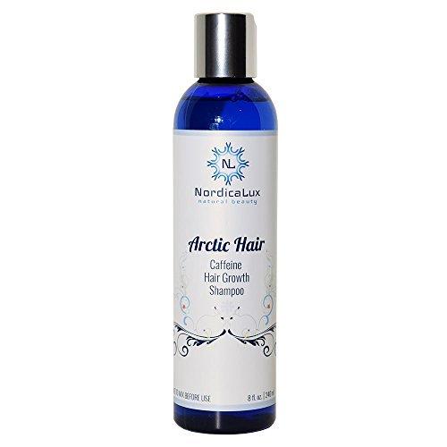 Arctic Hair - Caffeine Hair Growth Shampoo 8 Ounce | NEW MOISTER FORMULA | Blocks Hair Damaging DHT...