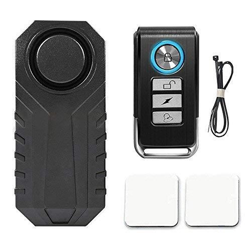 Lanceasy 113dB Wireless Anti-Theft Vibration Motorrad Fahrrad Alarm Wasserdichte Sicherheit Fahrrad Radfahren Alarm