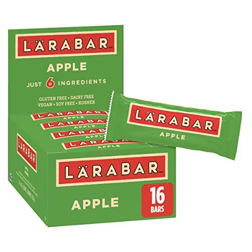 Larabar Gluten Free Apple Fruit and Nut Energy Bar,16-Count, 720 Gram
