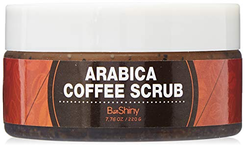 BeShiny Exfoliating Arabica Coffee Scrub - Best Skin Exfoliator per viso e...