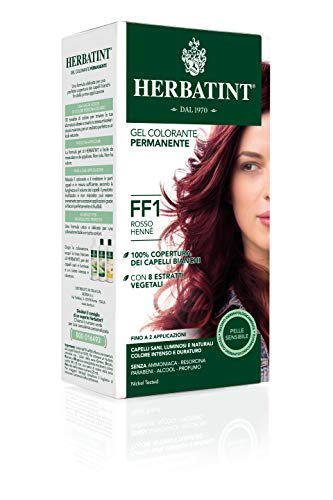Herbatint - HERBATINT COLORATION FLASH FASHION 135ML - FF1 ROUGE HENNE