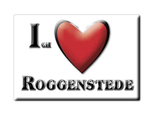 Enjoymagnets ROGGENSTEDE (NI) Souvenir Deutschland Niedersachsen Fridge Magnet KÜHLSCHRANK Magnet ICH Liebe I Love