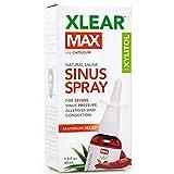 Xlear Max Nasal Spray with Capsicum, 1.5 fl oz (2-Pack)