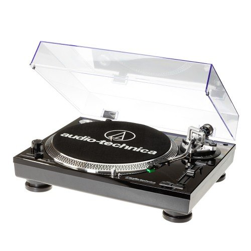 Audio-Technica AT-LP120USBCBK tocadisco - Tocadiscos (1.1, Corriente alterna, 11W, 115-230V, Windows XP, Vista, MAC OSX, Aluminio)