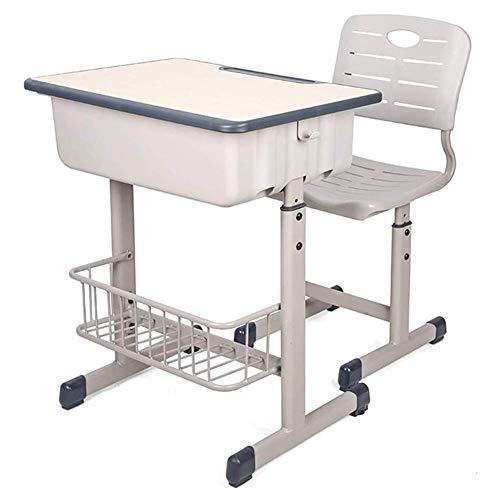 Ausstattung Kinder Schreibtisch Stuhl Set Höhe Verstellbar Kinder Schüler Schule Lerntisch Arbeitsplatz Station Interaktive Arbeitsstation Home Schreibtisch Schreibtische für Jugendliche