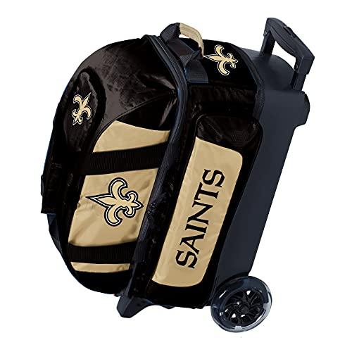 KR Strikeforce New Orleans Saints Bowlingtasche mit 2 Bällen