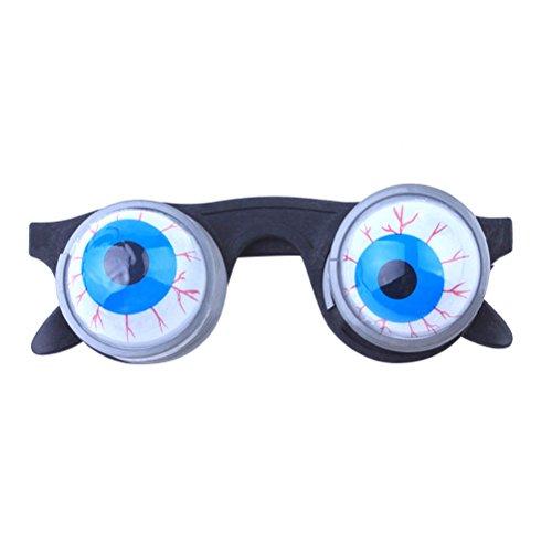 BESTOYARD Eyeball Glasses Funny Glasses Goo Goo Eye Glasses Spring Eyeball Glasses for Costume Party Photo Booth