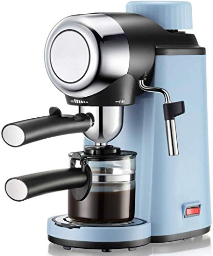 SXXYTCWL Máquina de Espresso, Bomba de presión de 5 Bar, 800W Cafetera 240ml, Máquina de café de Estilo Barista de Espressimo jianyou