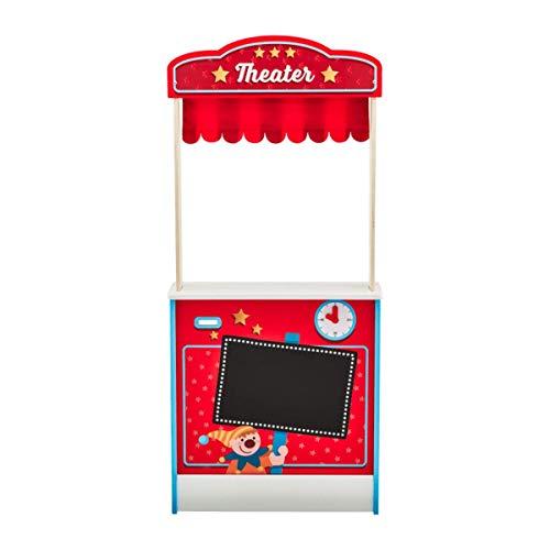 Playland 2-in-1 Qualitäts Marktstand Puppentheater B×H×T: ca. 51×112×25 cm