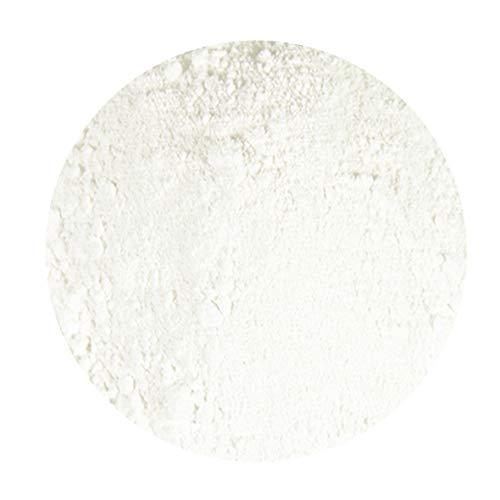 Titandioxid weiß Rutil Pigmentpulver | 100 ml | Premium Trockenpigment | für Farben, Lacke, Harze, Beton, Künstlerbedarf uvm.