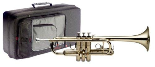 Stagg 77-CT C Trompete mit ABS-Koffer
