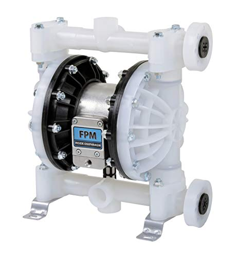 Fuelworks Double Diaphragm Transfer Pump Air Operated Pneumatic 1