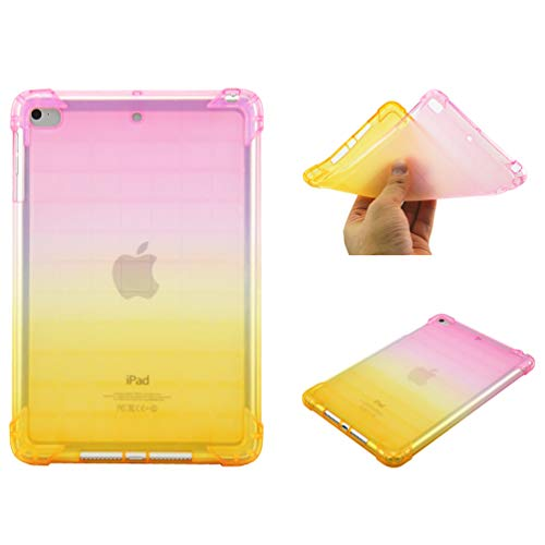 Bumina Case for iPad Mini 5 2019, [Gradient Series] Slim Fit Zachte TPU Crystal Clear Slanke Anti Slip Case Transparante Back Protector Beschermhoes voor Apple iPad Mini 5/ Mini 4 7.9 Inch Tablet 1