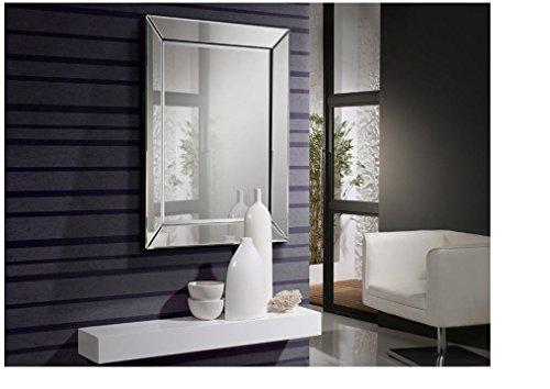 SCHULLER - Espejo Moderno 105x74 Cristal Biselado Colección ELISA