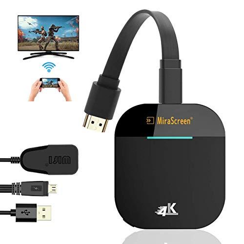 werpower Wireless Wifi Display Dongle HDMI,Mini Monitor Wifi, 2,4 Ghz, 1080P HD, Adattatore Schermo Wireless Per Smartphone/Pc/Tv/Monitor/Proiettore HDMI TV 1080P Mini Display Airplay Miracast DLNA