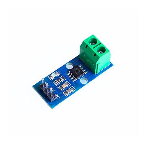 ACS712 - Módulo de Sensor de Corriente (5 A, 20 A, 30 A, ACS712, ACS712-5A, ACS712-20A, ACS712-30A, 10 Unidades)