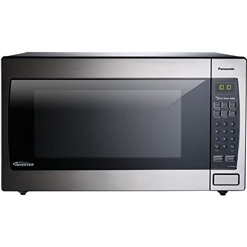 Panasonic 2.2 Cu. Ft. 1250W Genius Sensor Countertop/Built-in Microwave Oven with Inverter...