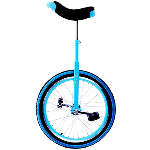 Yxxc Adult Unicycle - Unisex, Height Adjustable Skidproof Mountain Tire Balance Cycling Exercise Competitive Unicycle, Fun Bike Fitness