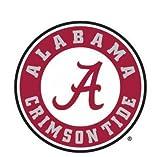 NCAA Alabama Crimson Tide Rund Logo Rolle Tide 10,2x 10,2cm die Cut Aufkleber