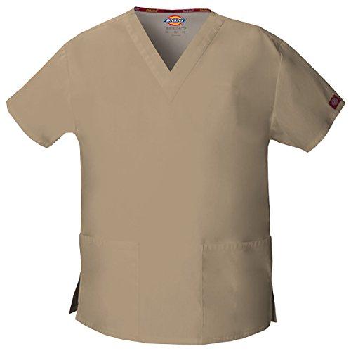 Dickies Damen EDS Signature Scrubs 86706 Missy Fit V-Ausschnitt Top - Braun - Mittel
