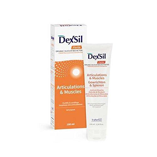 Dexsil Forte Gelenke + MSM Glucosamine Chondroitin Körpergel, 100 ml