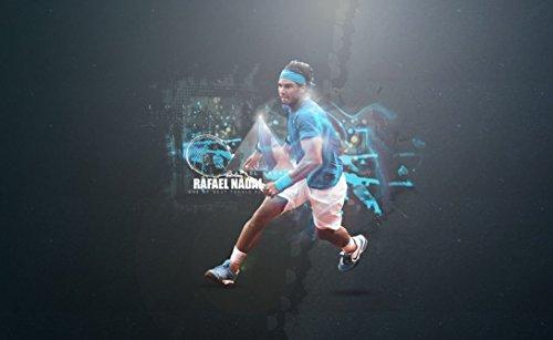 064 Rafael Nadal 39x24 inch Silk Poster Seide Plakat Aka Wallpaper Wall Decor By NeuHorris
