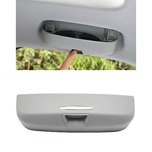 ShangDeLi Innenraum Brillenetui Auto Brillenhalter Sonnenbrillen etui Halter Brillenfach für A4 B8 B9 A3 8V Q3 Q5 Zubehör Sonnenbrillenhalter