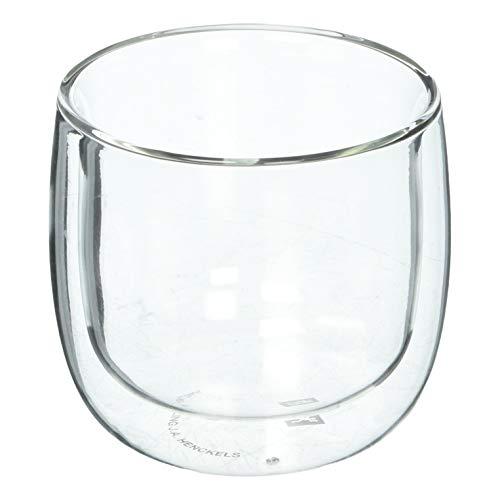 ZWILLING Sorrento Teetassen-Set aus doppelwandigem Glas, 2 Stück