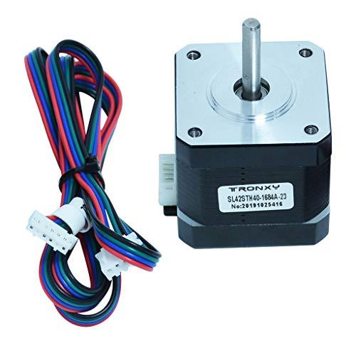 yotijar Motor paso a paso SL42STH40-1684A 1,8 A con cable conector para impresora 3D
