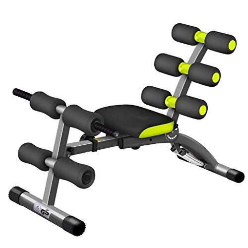 Best Buy! Household Folding Fitness Equipment Supine Board Dumbbell Bench Sit-Ups Abdomen Machine Me...