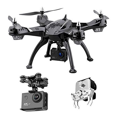 XIAOKEKE Drohne Mit Kamera 1080P HD, Angeln Drohne, WiFi FPV, Quadcopter, Steuerbarer Manipulator, 360°Flips, Kopfloser Modus, Geeignet Zum Angeln Vom Ködern, 8 Dröhnen Im Paket Enthalten