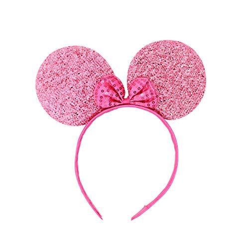 Micky Minnie Mouse Oren Haarbanden Hoofdband Voor Vrouwen Meisjes Kids Make Up Fancy Jurk {BABY PINKHen Party Night Halloween Fancy Dress Diseny Verjaardagsfeest