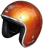 TORX Casco Moto WYATT, SHINY GLITTER ORANGE, Taglia L