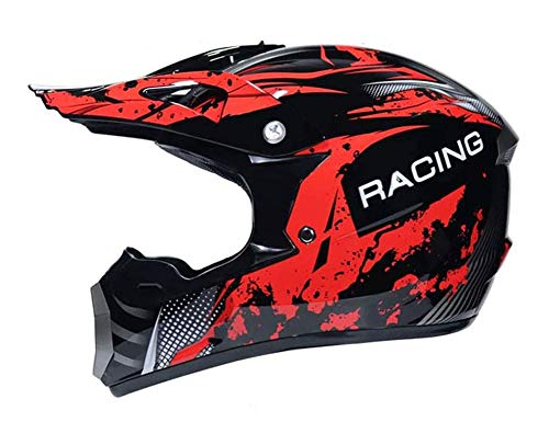 DBSCD MX Crash Helm, Motocross Helm, Motorrad Offroad DH Enduro Racing Downhill Dirt...