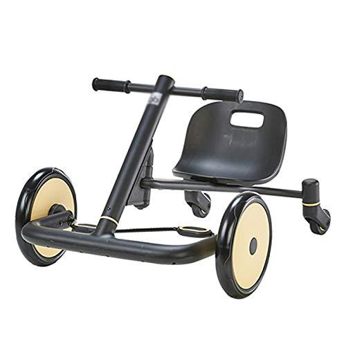 YWSZJ Coche para niños Coche a la Deriva Kart Pedal Slide Baby Bike Balance Car para 2-3-8-12 años Bicicleta para niños (Color : B)