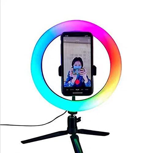 XCUGK Anillo de Luz LED Aro de Luz 15 Colores...