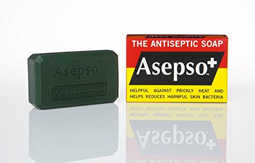 Asepso Jabón Hygeine original antibacteriano antiséptico saludable cuerpo y cara 80 g...