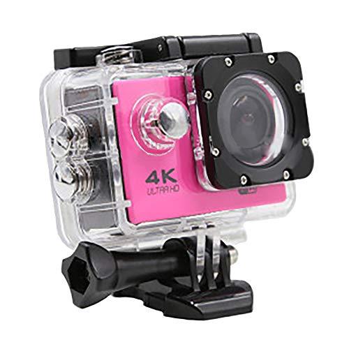 CNMF 4K WiFi Action Camera, waterdichte sport-WiFi Ultra HD-waterkamera onderwater-uitgang timelapse-slow-motion, goed voor outdoor-wandelen, zwemmen, skiën