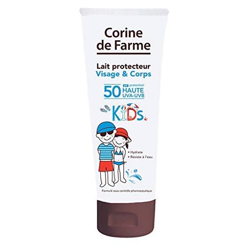 Corine de Farme Lait Protecteur Visage & Corps SPF 50 Protection Haute Kids 125ml (lot de 2)